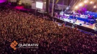 Reventó la noche Panteón Rococó en la Expo Fiesta 2017