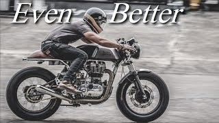 download video: cafe racer (how to calculate the proportions of