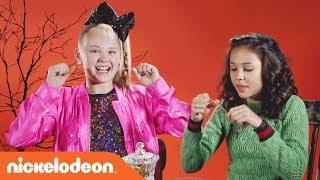 👻 JoJo Siwa & the 'School of Rock' Cast Try the 'Halloween Candy Reject Taste Test'  🍭 | Nick