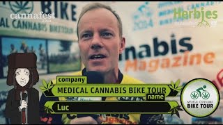 Medical Cannabis Bike Tour @ Cannafest 2014 Prague
