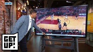 Jalen Rose breaks down film from Warriors' Game 1 win over Rockets   Get Up!   ESPN