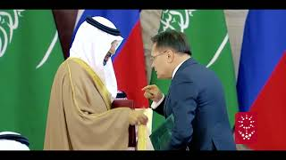 الملك سلمان والرئيس الروسي يشهدان تبادل اتفاقيات ومذكرات تفاهم وبرامج تعاون بين حكومتي البلدين