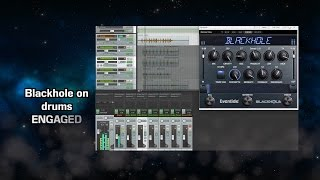 Eventide Blackhole on Synth, Drums, and Guitars