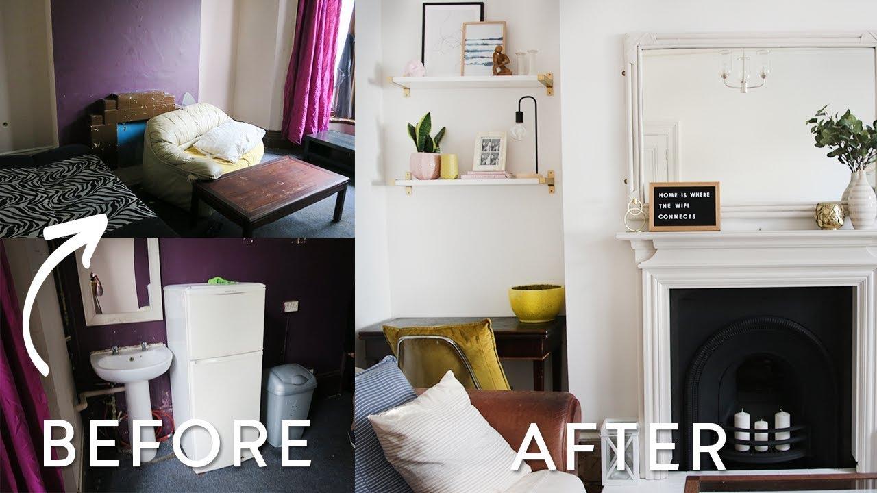 Extreme DIY Living Room Makeover on a Budget