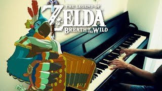 ZELDA Breath of the Wild - Kass' Theme (Extended) - Piano Cover