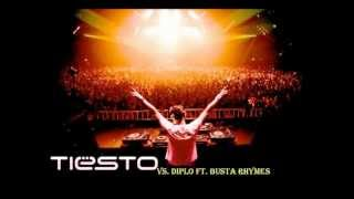 Tiësto vs. Diplo ft. Busta Rhymes -C'mon vs Hardwell & Tiesto - Zero 76 )(ofek asis MashUp).wmv