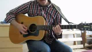 """Geoff Baker, """"4th of July"""" (X cover), solo acoustic at home"""