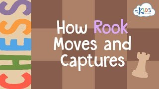 Chess: How Rook Moves and Captures