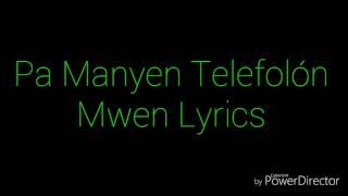 Pa Manyen Telefón Mwen- Olivier Martelly ft Trouble Boy