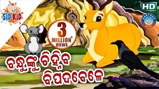 Bandhunku Chinhiba Bipadabele | Aaima Kahani Series | Cartoon Movie By| Sidharth TV