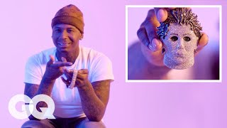 Moneybagg Yo Shows Off His Insane Jewelry Collection | GQ