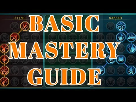 [Raid Shadow Legends] Mastery Guide