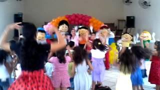 Dia de Festa - Aline Barros com Turma da Alegria