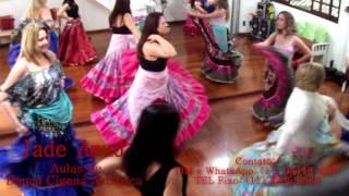 Jade Amud - Aula de Dança Cigana Artística (estilo Rumba)