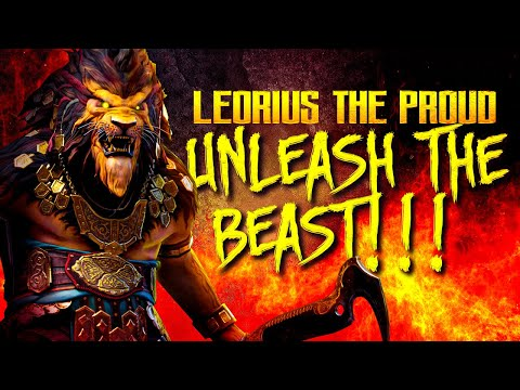 [REUPLOAD] Leorius the Proud is a PROBLEM! Raid Shadow Legends