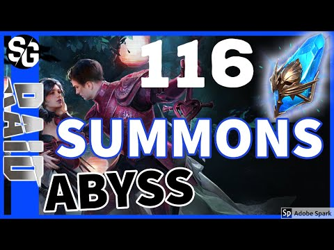 RAID SHADOW LEGENDS | 116 ANCIENT SUMMONS | ABYSS | VIEWER ACCOUNT