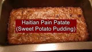Haitian Pain Patate