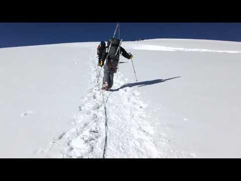 Climb Mera Peak: Early morning high on Mera Peak