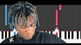 Juice Wrld - Legends (Piano Tutorial)