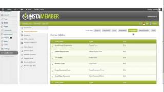 InstaMember | Form Editor