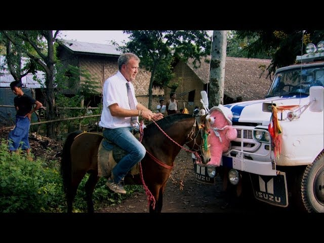 Top Gear goes horse back - Top Gear Burma Special: Series 21 Episode 6 - BBC Two
