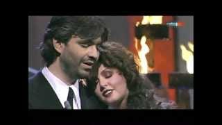 Sarah Brightman and Andrea Bocelli - 'POR TI VOLARE' Live