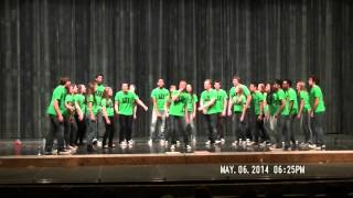 Novi Major VI Acapella May 6th 2014 - Jessie's Girl