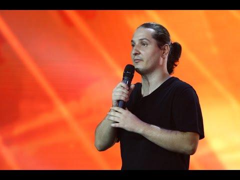 Andrei Gălădean, cel mai iute ardelean din istorie, stand up comedy pe scena iUmor