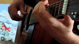 Con te partiro на гитаре