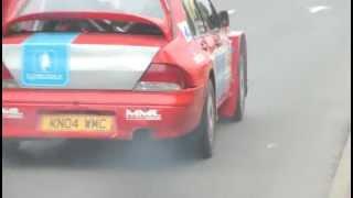 Rally Kurzeme 2012 SS1 - City stage (LIVE video) width=