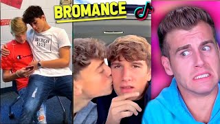 REACTING To BROMANCE TIK TOKS (Catching Feelings Compilation)