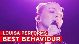 Louisa Johnson performs Best Behaviour LIVE | heat Radio