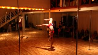 "Pole Performance- ""Crazy in Love"""