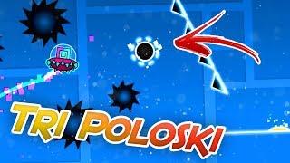 TRI POLOSKI | FULL LAYOUT - Quiken | Geometry Dash 2.1