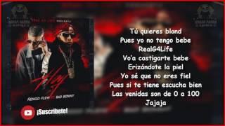 Hoy - Ñengo Flow Ft Bad Bunny (LETRA)