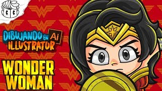 Speed Drawing Wonder Woman