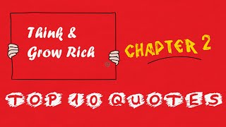 Top 10 Think And Grow Rich Quotes For Daily Inspiration - Chapter 2 | Motivational And Inspirational