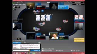 poker all in - Playm888 vs Relamz vs PLOmonster