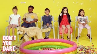 We Challenged Kids to Stay Completely Still | Don't You Dare | HiHo Kids
