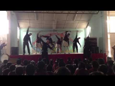 Spectrum Dance Theather Warm-up with Mahendra Bahwan Students