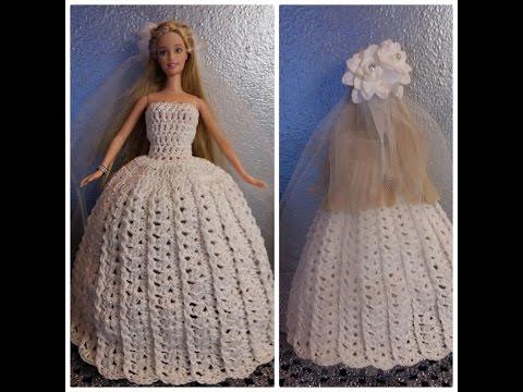 Come Fare Un Vestito Per Barbie Alluncinetto Fai Da Te Mania