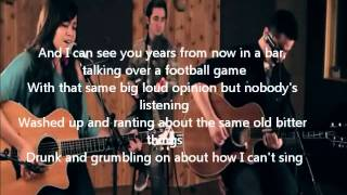 Taylor Swift-Mean (Boyce Avenue feat. Megan Nicole acoustic cover) Lyrics on screen