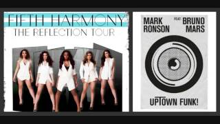 Uptown Funk - Mark Ronson ft Bruno Mars & Fifth Harmony (mashup)