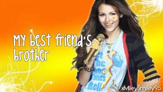 Victoria Justice - Best Friend's Brother (BFB) (with lyrics)