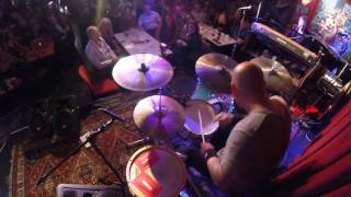 Jackie Barnes DrumCam - Groove Solo with The Lachy Doley Group