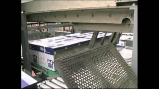 Paletizadores cajas entrada superior