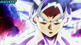 DBS AMV MUI Goku vs Jiren ~ Legends Never Die [NightCore]
