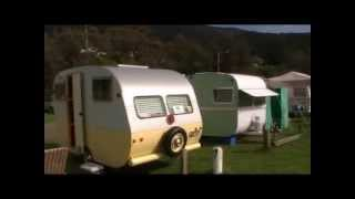 Historic, Retro, Classic, Vintage Caravans at Coledale 2009.