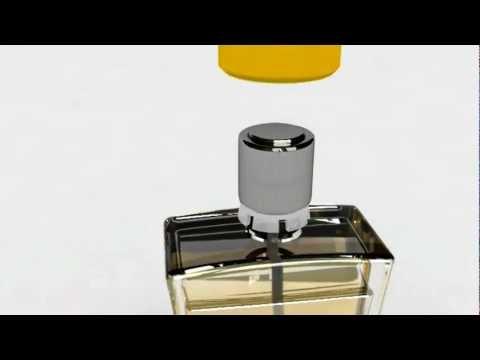 Açık Parfüm Şişesi