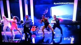 BAILARINES YO ME LLAMO ECUADOR JUNTO ALBERTO PLAZA